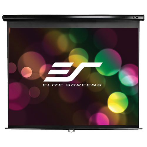 "Elite Screens 119"" 1:1 Manual Projector Screen"