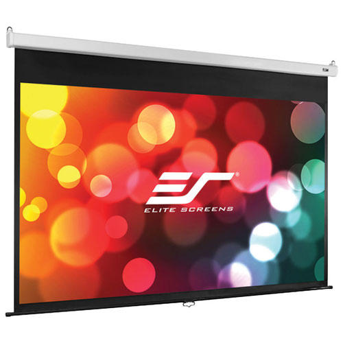 Écran de projection manuel de 120 po format 16:9 Manual SRM Pro d'Elite Screens