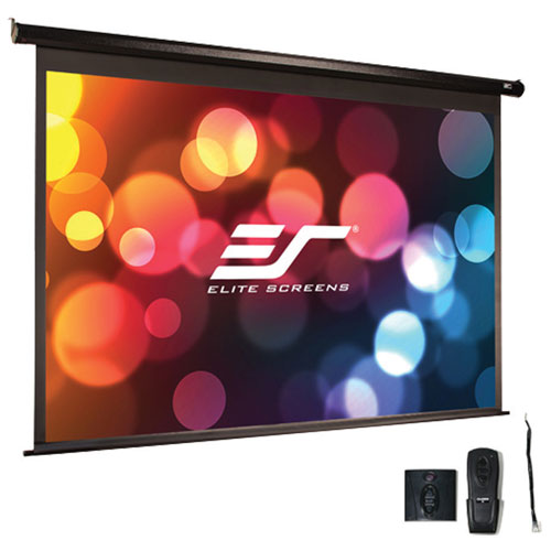 Écran de projection motorisé UHD format 16:9 de 100 po Spectrum AcousticPro d'Elite Screens