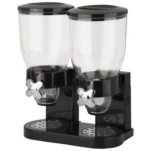 Honey-Can-Do Indispensable Double Dispenser - Black