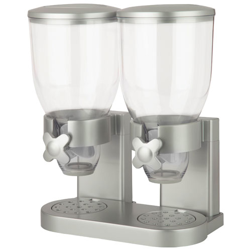 Honey-Can-Do Indispensable Double Dispenser - Silver