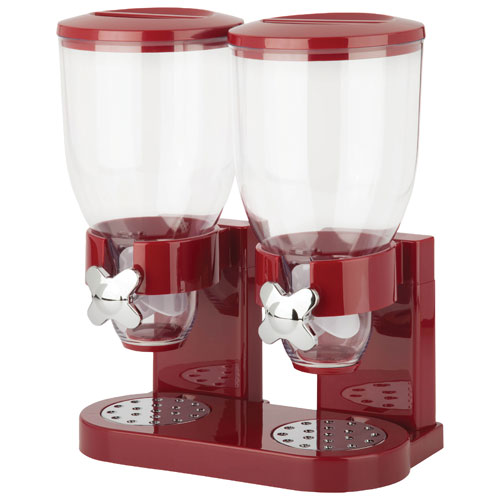 Distributeur double Indispensable Double Dispenser Honey-Can-Do - Rouge