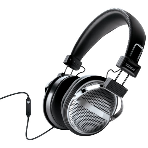iSound On-Ear Headphones (DGHP-5526) - Black