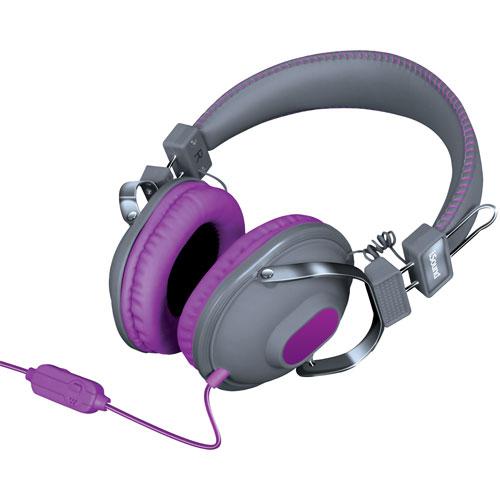 Casque d'écoute iSound (DGHM-5524) - Gris - Violet