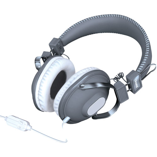 iSound On-Ear Headphones (DGHM-5522) - Grey/White