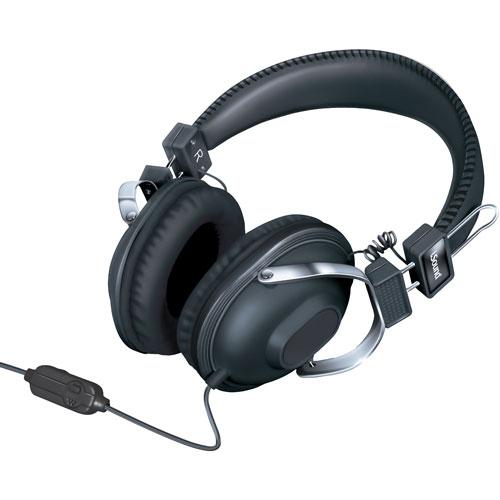 iSound On-Ear Headphones (DGHM-5521) - Black