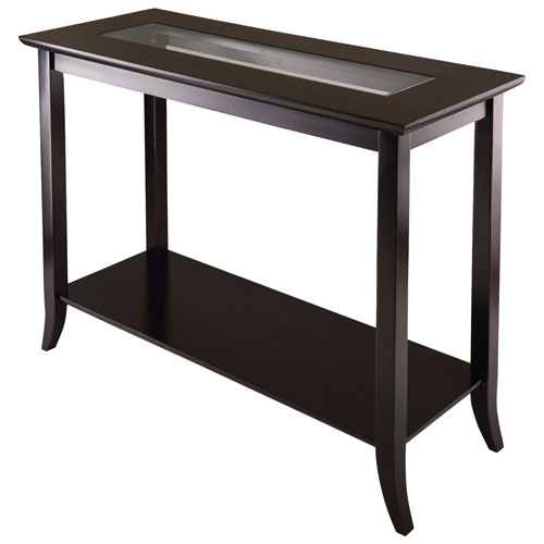 Console Table Canada genoa transitional console table - dark espresso : console tables