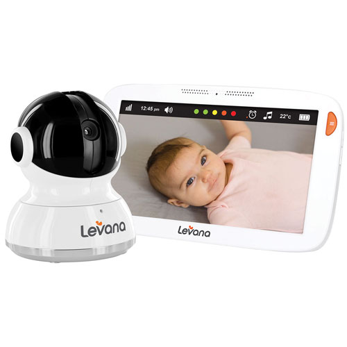 "Levana Aria 7"" Screen Video Baby Monitor (32203) - White"