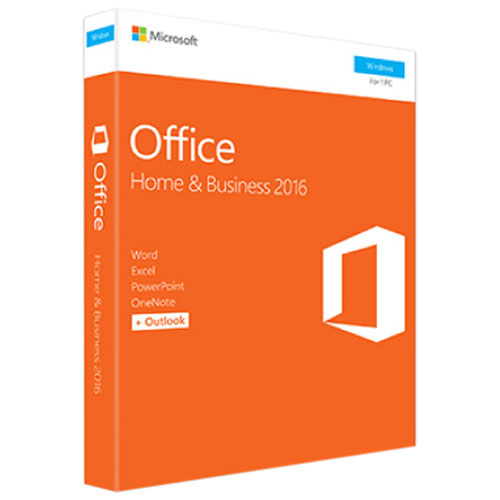 Microsoft Office Home & Business 2016 (PC) - English