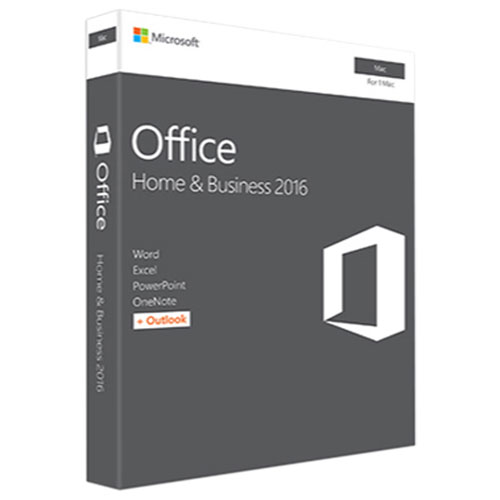 Microsoft Office Home & Business 2016 (Mac) - English