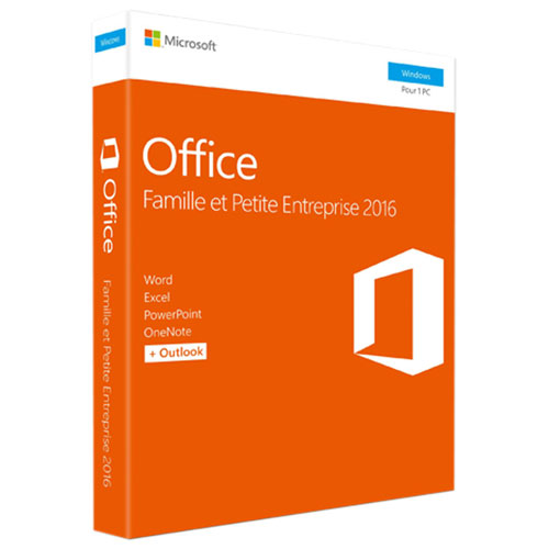 Microsoft Office Home & Business 2016 (PC) - French