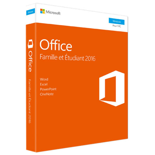 Microsoft Office Home & Student 2016 (PC) - French