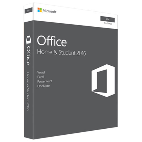 Microsoft Office Home & Student 2016 (Mac) - English