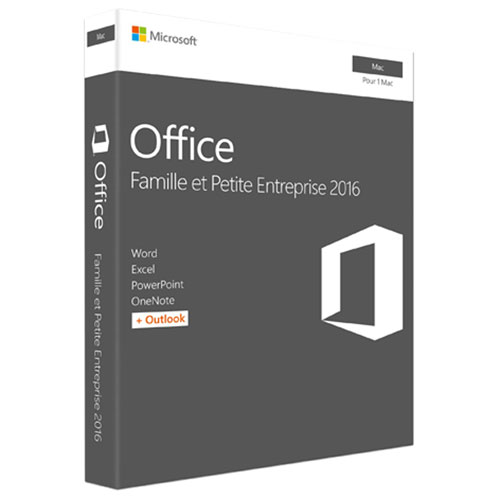 Microsoft Office Home & Business 2016 (Mac) - French