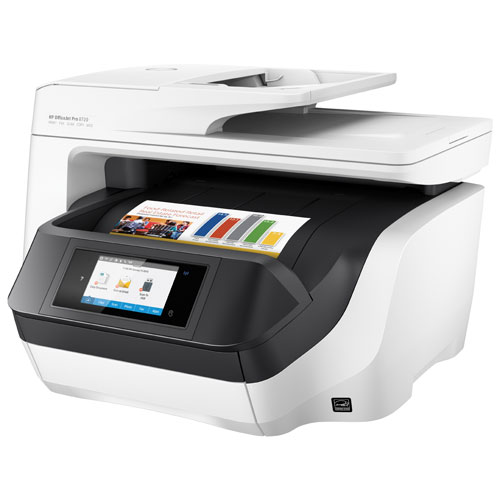 Hp officejet pro 8720 wireless colour all in one inkjet for Best home office multifunction printers