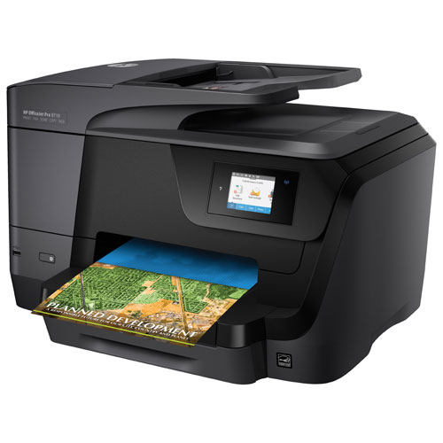 Hp officejet pro 8710 wireless colour all in one inkjet for Best home office multifunction printers