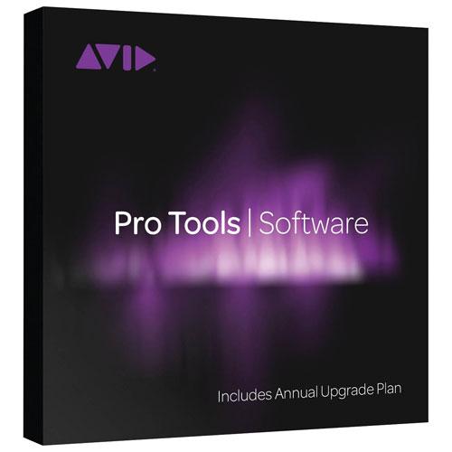 Renouvellement du forfait annuel de Pro Tools (PC/Mac)
