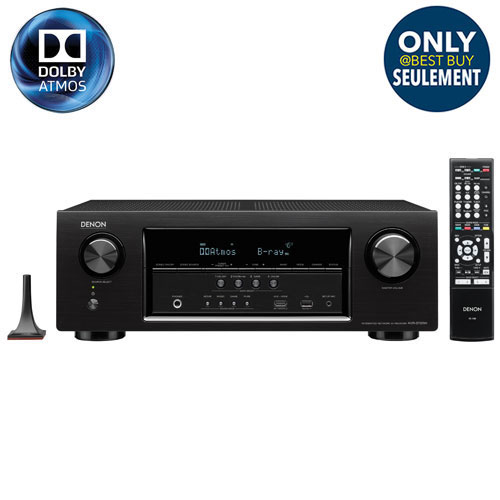 Denon AVR-S720W 7.2 Channel 4K Ultra HD Network AV Receiver - Only at Best Buy