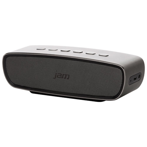JAM Heavy Metal Bluetooth Wireless Speaker - Silver