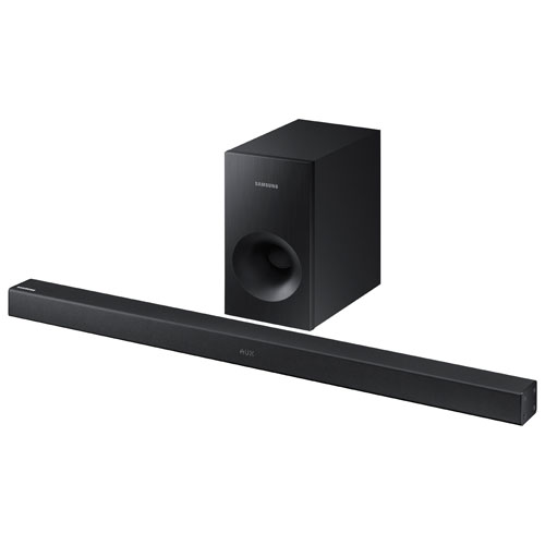 Samsung HW-K360 Flat 2.1 Channel Sound Bar with Wireless Subwoofer