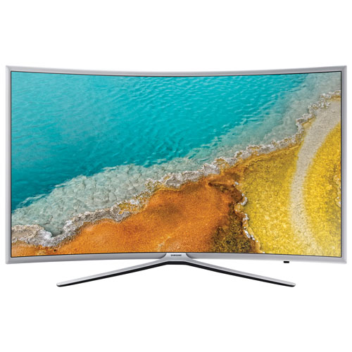 "Samsung 49"" 1080p Curved LED Smart TV (UN49K6250AFXZC) - Silver - Only at Best Buy"