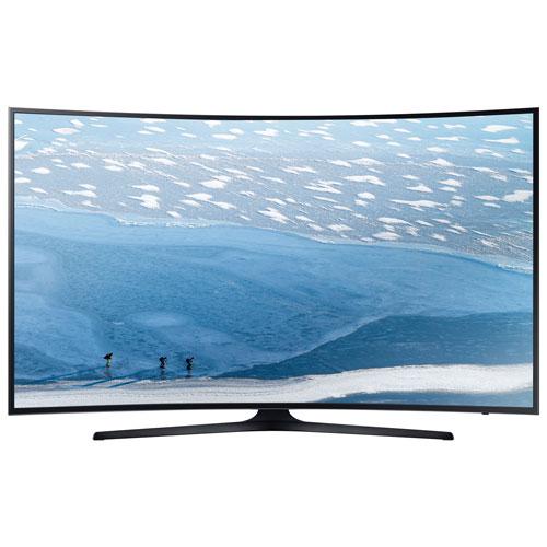 samsung 55 4k ultra hd curved led smart tv. Black Bedroom Furniture Sets. Home Design Ideas