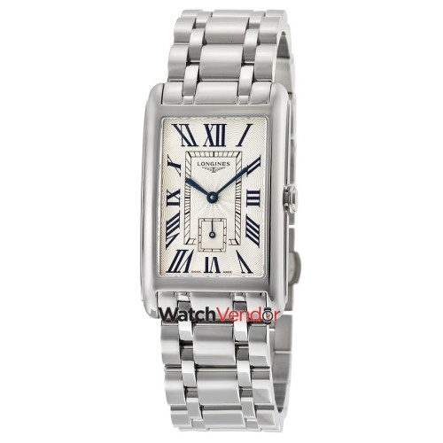 Longines Dolcevita Silver Dial Stainless Steel Ladies Watch L57554716 -  Online Only ad6cfc7c621