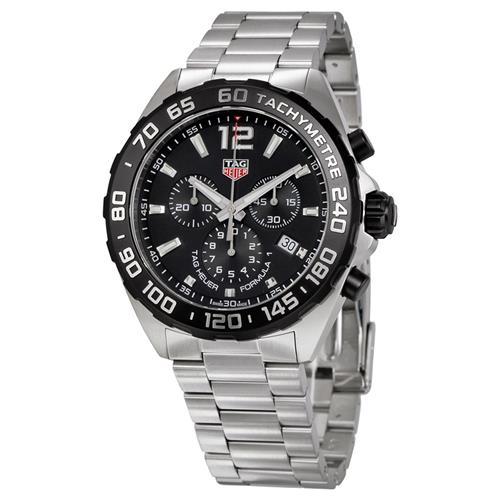 fd77c3483537 Tag Heuer Formula 1 Chronograph Black Dial Mens Watch CAZ1010.BA0842 -  Online Only