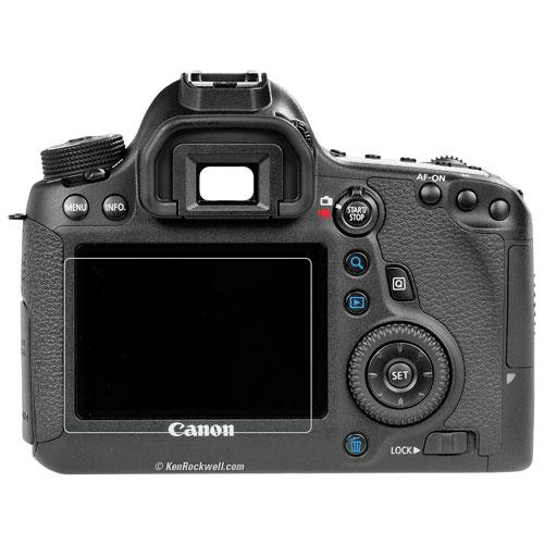 Phantom Canon 6D Glass Screen Protector (PGC-004)
