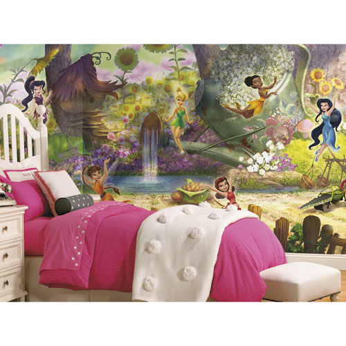 TG murale en papier peint Les fées de Disney et la Vallée des Fées de RoomMates