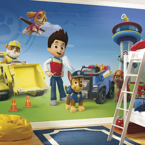 RoomMates Paw Patrol XL Wallpaper Mural
