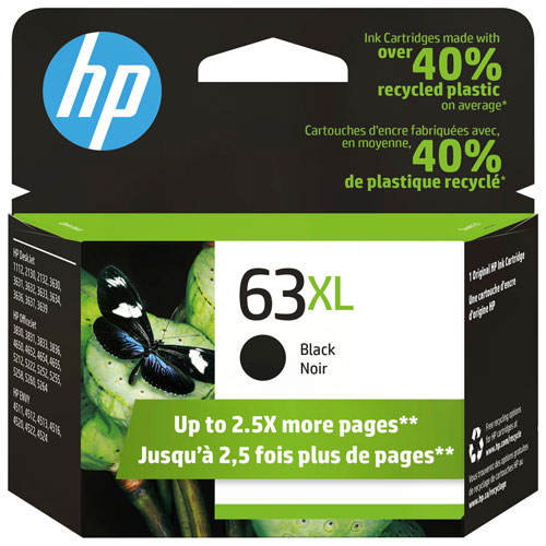 HP 63XL Black Ink