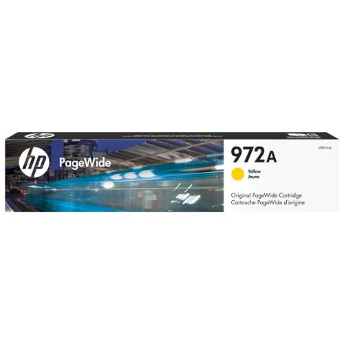 Cartouche d'encre jaune PageWide 972A de HP