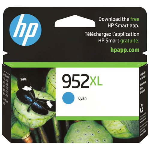HP 952XL Cyan Ink (L0S61AN#140)