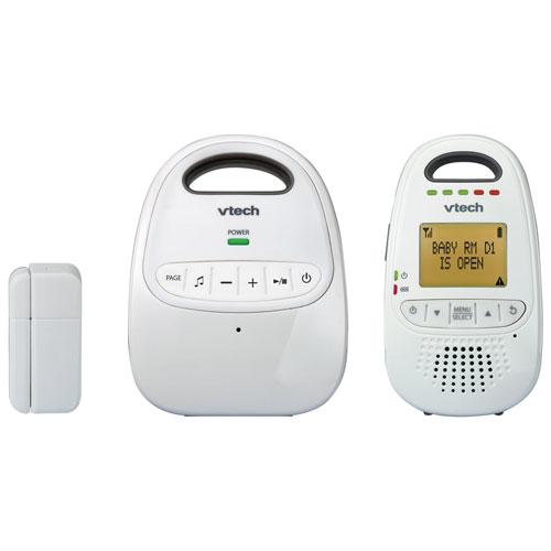 Interphone de surveillance audio numérique de VTech avec technologie DECT 6.0 (DM251-102) - Blanc