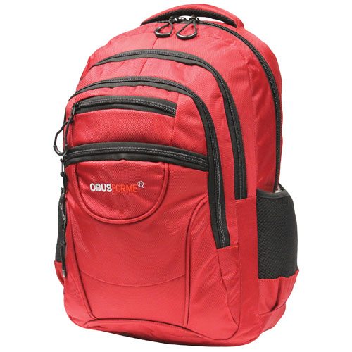 bd495f53c046 ObusForme 35L Travel Backpack - Red   Backpacks - Best Buy Canada