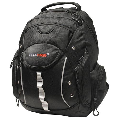 afa776b1c256 ObusForme 35L Travel Backpack - Black   Backpacks - Best Buy Canada