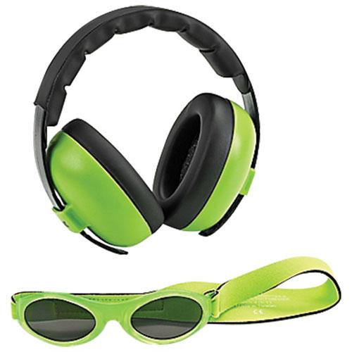 Cache-oreilles et lunettes de soleil de Baby Banz - 0 à 2 ans - Vert    Casques antibruit pour bébés - Best Buy Canada 6acdcfdd4944