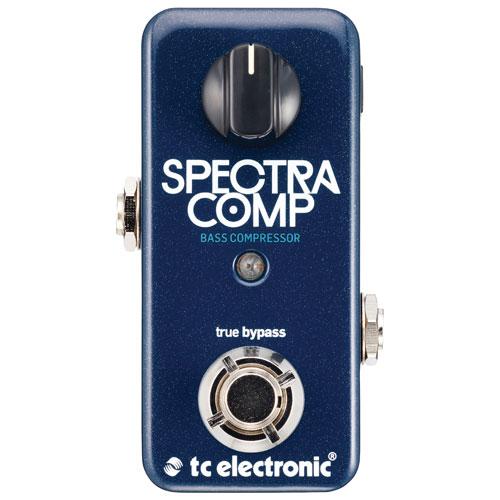 Pédale à compresseur pour basse SpectraComp de TC Electronic