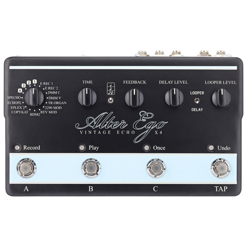 TC Electronic Alter Ego X4 Delay & Looping Guitar Pedal