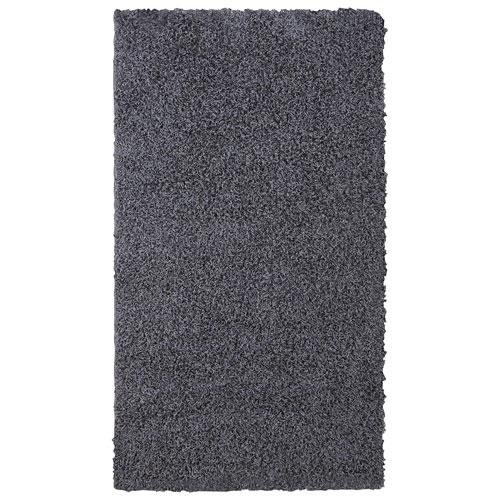 Anzali 5' x 8' Shag Area Rug - Charcoal