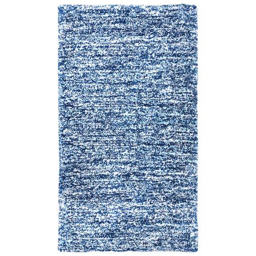 Shaughnessy 8' x 11' Maya Shag Area Rug - Navy Blue