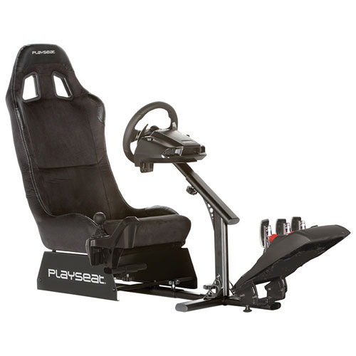 playseat evolution alcantara m gaming chair black gaming chairs best buy canada. Black Bedroom Furniture Sets. Home Design Ideas