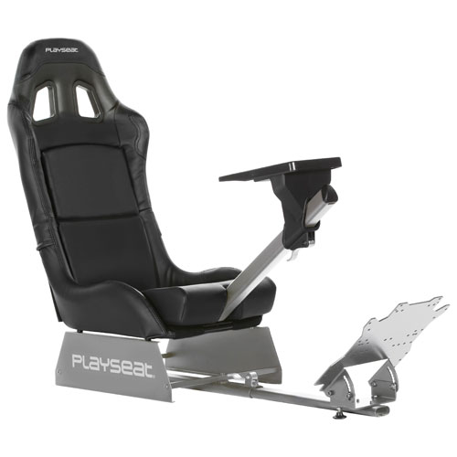 Playseat Revolution Ergonomic Racing Simulator Cockpit Gaming Chair   Black