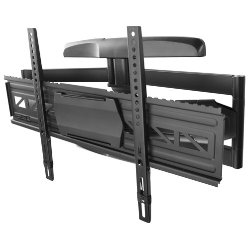 insignia 47 80 full motion tv wall mount tv mounts best buy canada. Black Bedroom Furniture Sets. Home Design Ideas