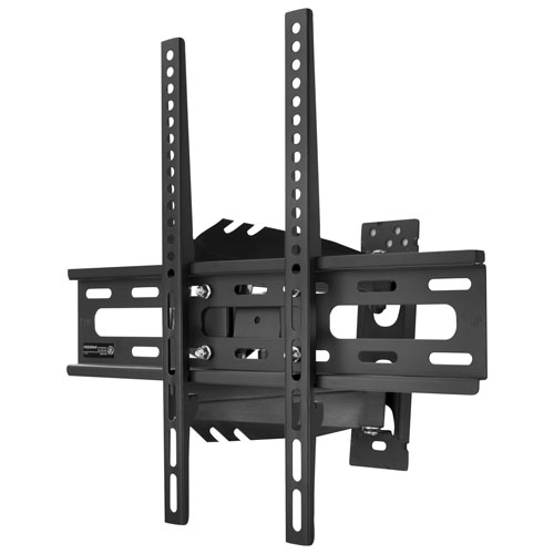 insignia 33 46 full motion tv wall mount tv mounts best buy canada. Black Bedroom Furniture Sets. Home Design Ideas