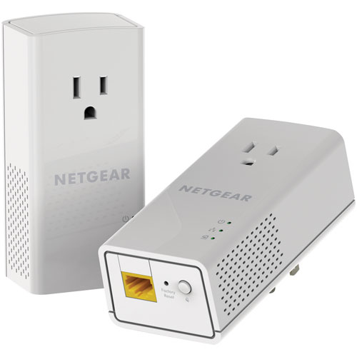 netgear powerline av2 1200mbps adapter kit with filtered powernetgear powerline av2 1200mbps adapter kit with filtered power socket pass through range extenders \u0026 powerline networking best buy canada