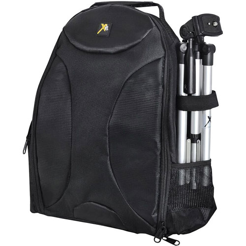 Xit Deluxe Digital Camera/Video Padded Backpack (XTBP) - Large