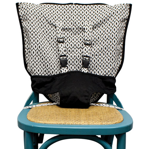 Mint Marshmallow Travel Seat - Black