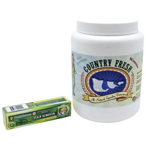 Buncha Farmers Country Fresh Laundry Detergent with Stain Removal Stick - Large
